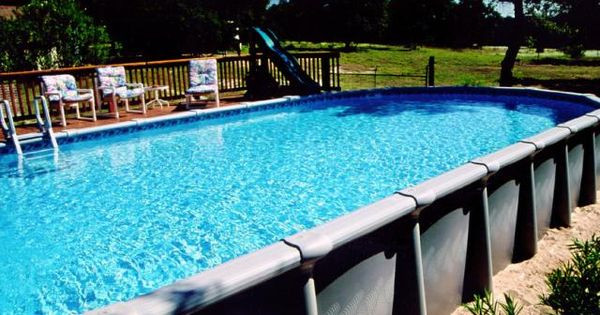 Best ideas about Largest Above Ground Pool . Save or Pin Image detail for Oval Ground Pool Now.