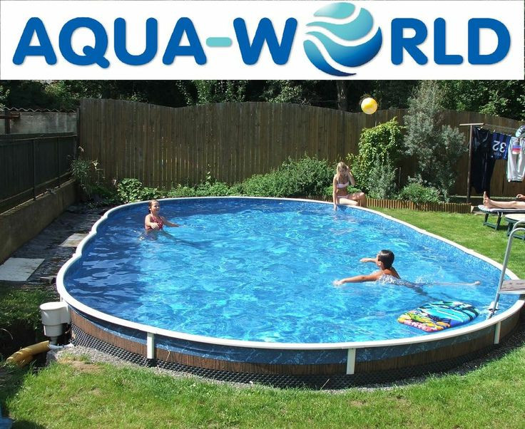Best ideas about Largest Above Ground Pool . Save or Pin 17 Best ideas about Oval Ground Pools on Pinterest Now.
