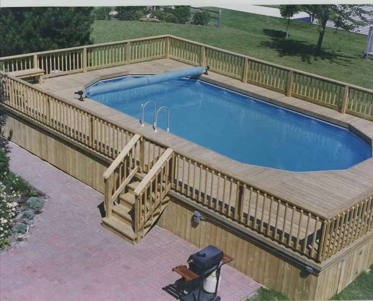 Best ideas about Largest Above Ground Pool . Save or Pin 43 best images about LARGE Ground Pools on Pinterest Now.