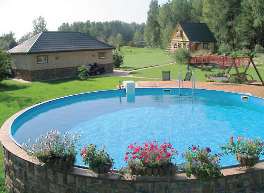 Best ideas about Largest Above Ground Pool . Save or Pin Excellent Options for Decoration Swimming Pools at Now.