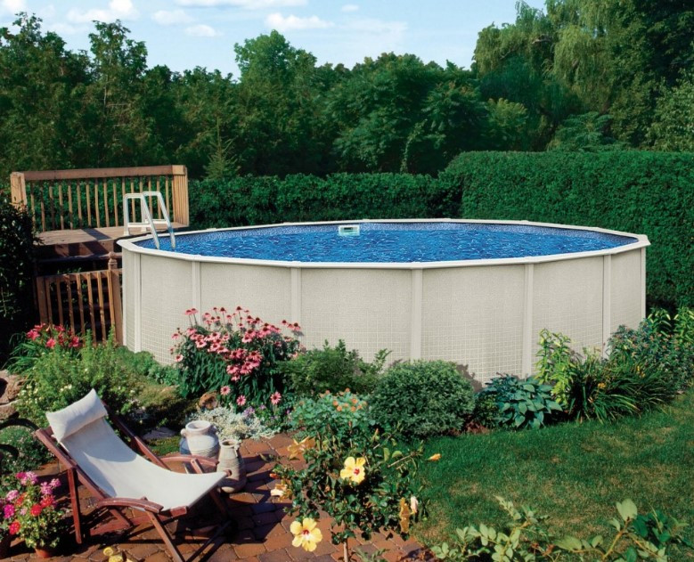 Best ideas about Largest Above Ground Pool . Save or Pin 40 Uniquely Awesome Ground Pools with Decks Now.