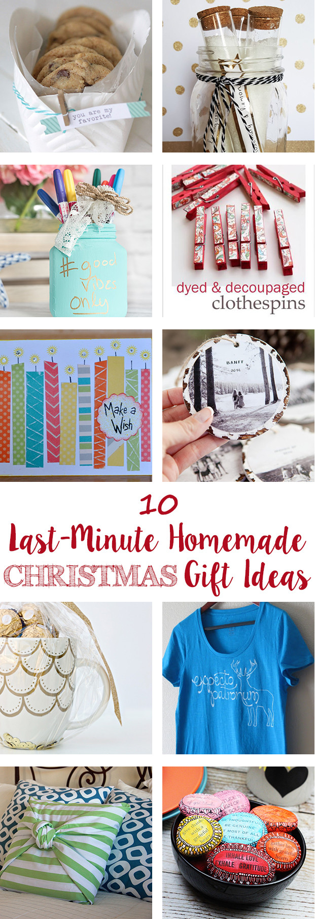 Best ideas about Last Minute DIY Christmas Gifts . Save or Pin Last Minute Homemade Christmas Gift Ideas • Rose Clearfield Now.