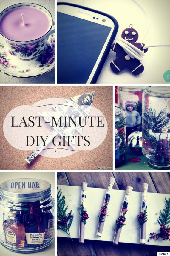 Best ideas about Last Minute DIY Christmas Gifts . Save or Pin DIY Last Minute Christmas Gifts For Creative Minds Now.