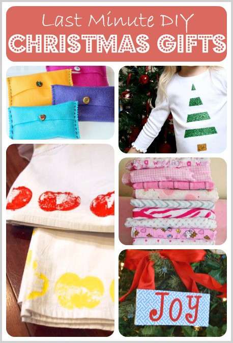 Best ideas about Last Minute DIY Christmas Gifts . Save or Pin 5 Last Minute DIY Christmas Gifts and Mom s Library 74 Now.