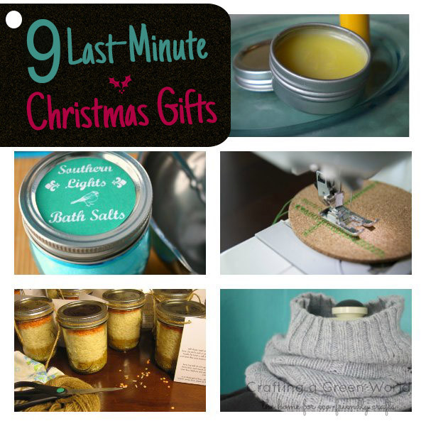 Best ideas about Last Minute DIY Christmas Gifts . Save or Pin 9 Last Minute Christmas Gifts to Make this Weekend Now.