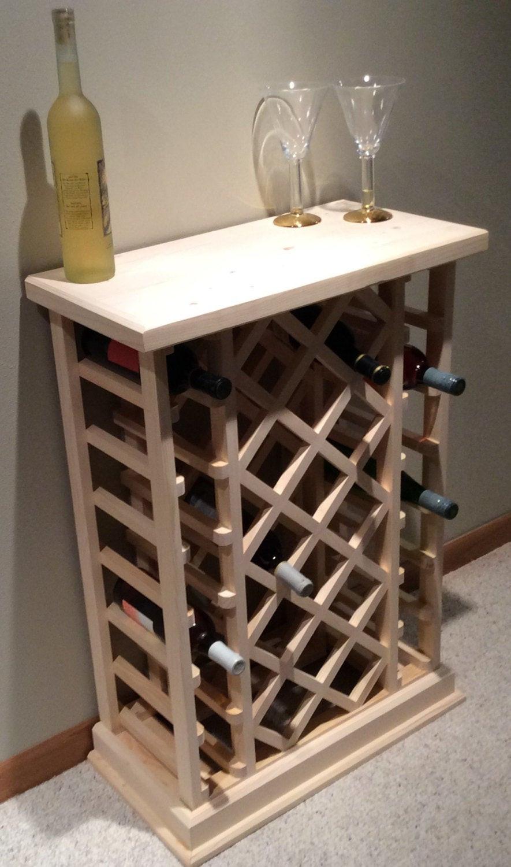 Best ideas about Lattice Wine Rack DIY . Save or Pin 28 Bottle Lattice Style Wine Rack Now.
