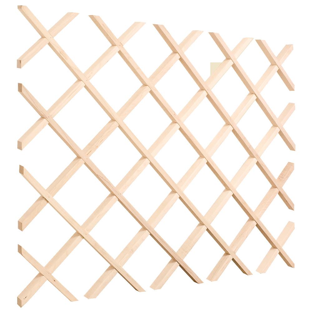 Best ideas about Lattice Wine Rack DIY . Save or Pin Lattice Wine Rack Plans PDF Woodworking Now.