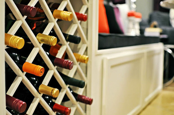 Best ideas about Lattice Wine Rack DIY . Save or Pin Amazing DIY Wine Storage Ideas Now.