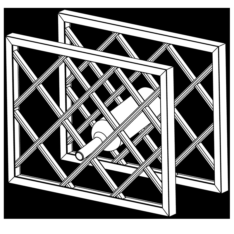 Best ideas about Lattice Wine Rack DIY . Save or Pin Assembled Wine Rack Lattice Without a Frame Now.