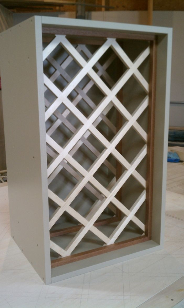 Best ideas about Lattice Wine Rack DIY . Save or Pin Pin by Lynda McClain Bassett on Locust Now.