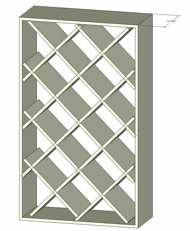 Best ideas about Lattice Wine Rack DIY . Save or Pin Wine Rack Lattices Lee Valley Tools Intended For How To Now.