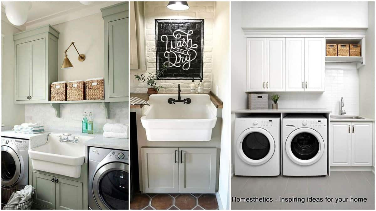Best ideas about Laundry Room Cabinet Ideas . Save or Pin 41 Beautifully Inspiring Laundry Room Cabinets Ideas to Now.