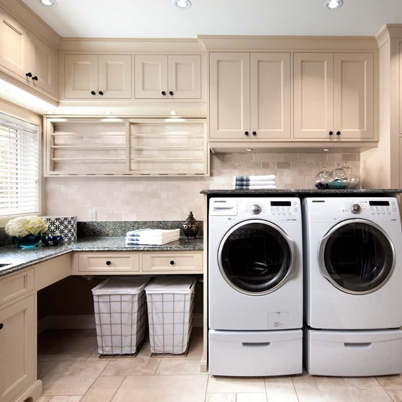 Best ideas about Laundry Room Cabinet Ideas . Save or Pin Brilliant Ways to Organize and Add Storage to Laundry Rooms Now.