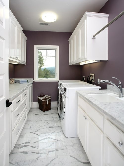 Best ideas about Laundry Room Decor . Save or Pin Laundry Room Hang Bar Ideas Remodel and Decor Now.