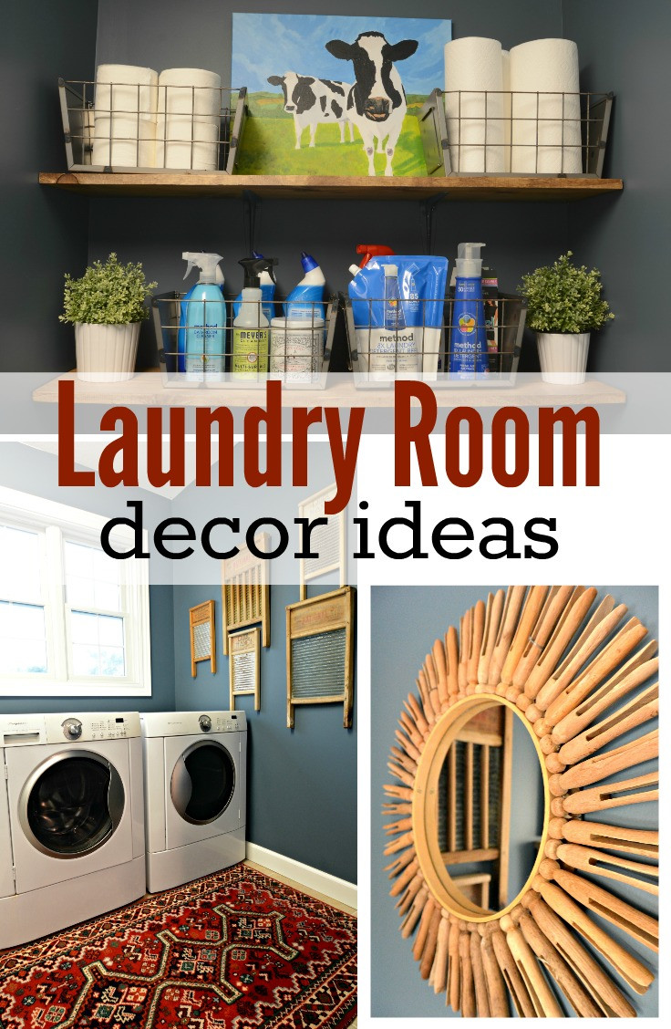 Best ideas about Laundry Room Decor . Save or Pin Laundry Room Makeover Reveal — Decor and the Dog Now.