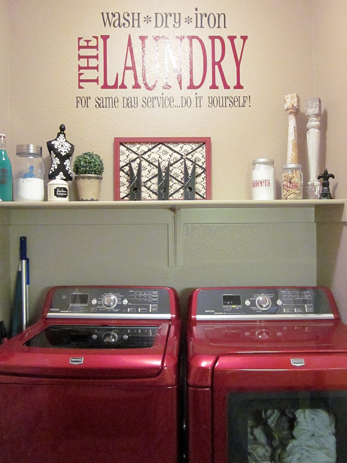Best ideas about Laundry Room Decor . Save or Pin Adorable Antics Laundry Room Decorations on NO bud Now.