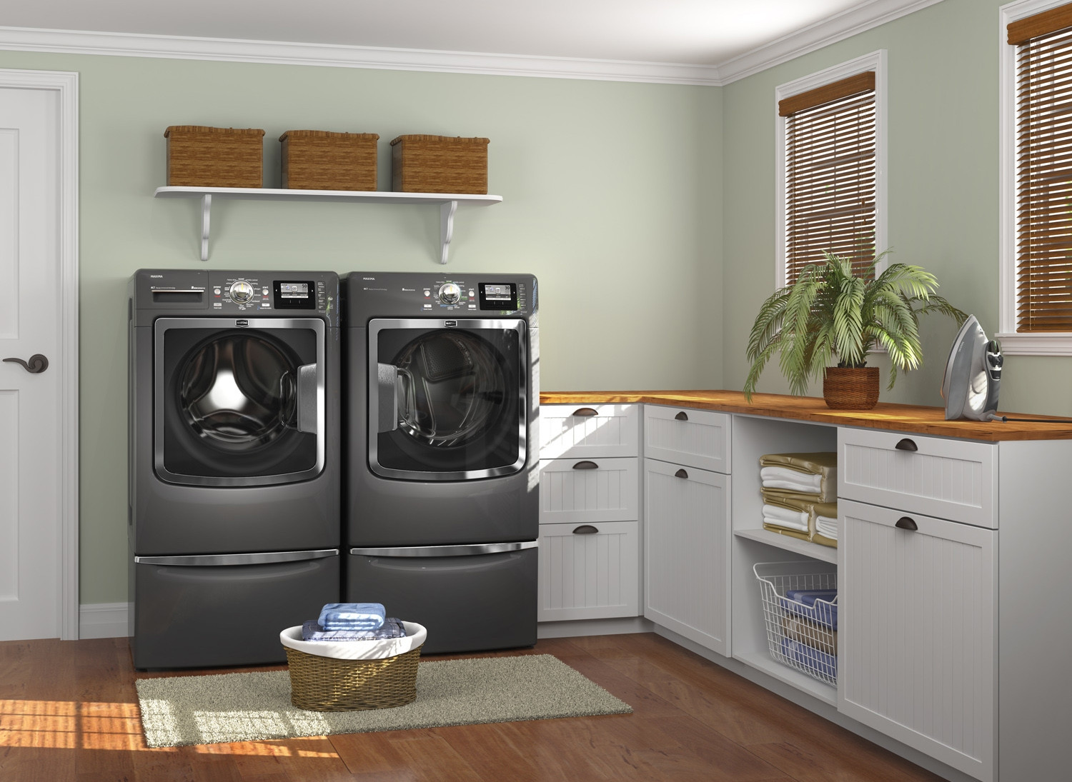 Best ideas about Laundry Room Decor . Save or Pin 15 Tips to Creating a Laundry Room that's both Charming Now.