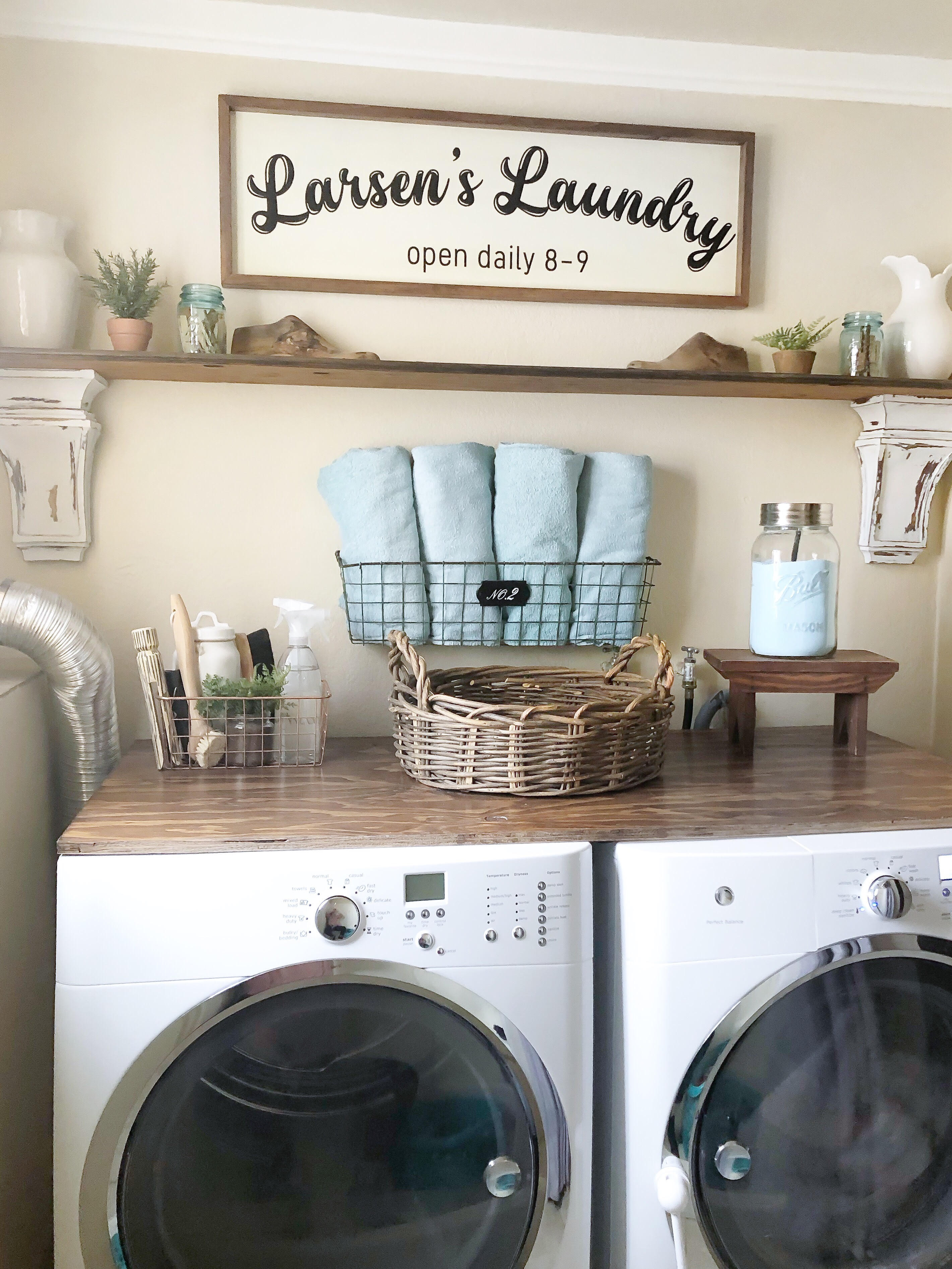 Best ideas about Laundry Room Decor . Save or Pin Laundry Room Decor and Helpful Tips Craft O Maniac Now.