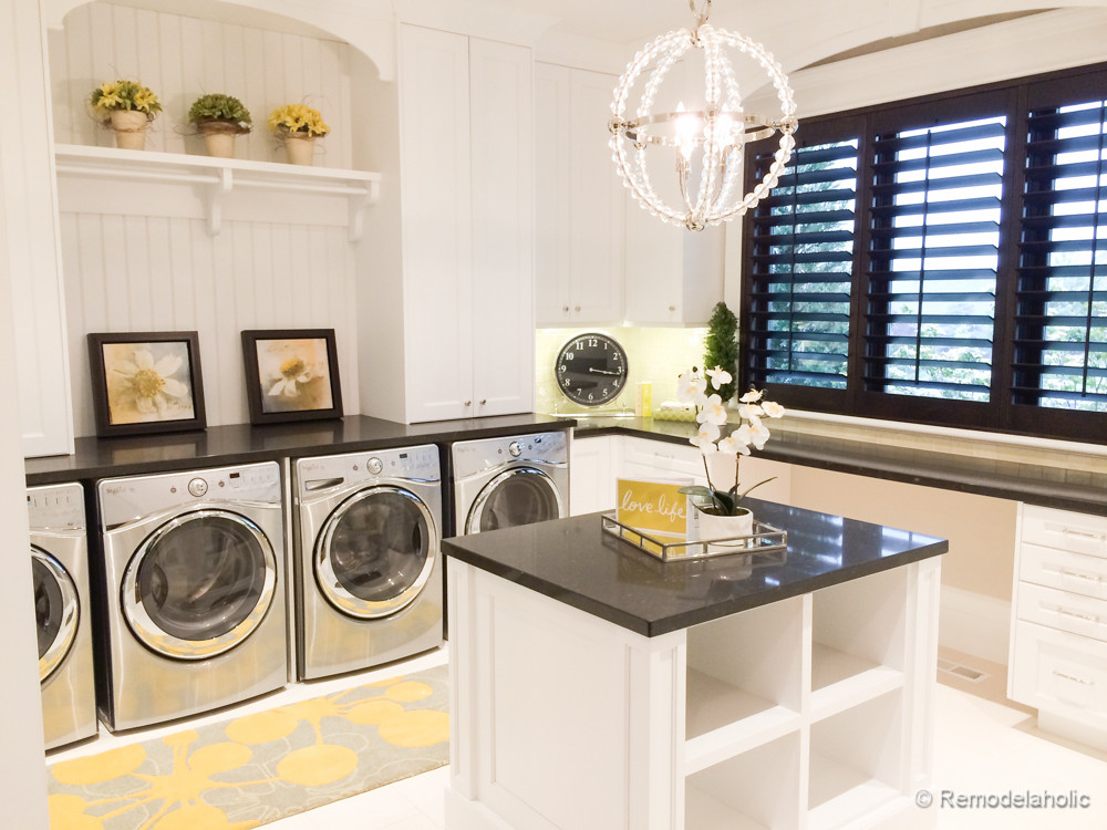 Best ideas about Laundry Room Decor . Save or Pin 100 Inspiring Laundry Room Ideas Now.
