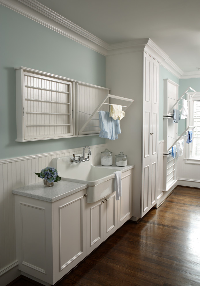 Best ideas about Laundry Room Drying Rack . Save or Pin wall mounted drying rack for clothes Laundry Room Now.