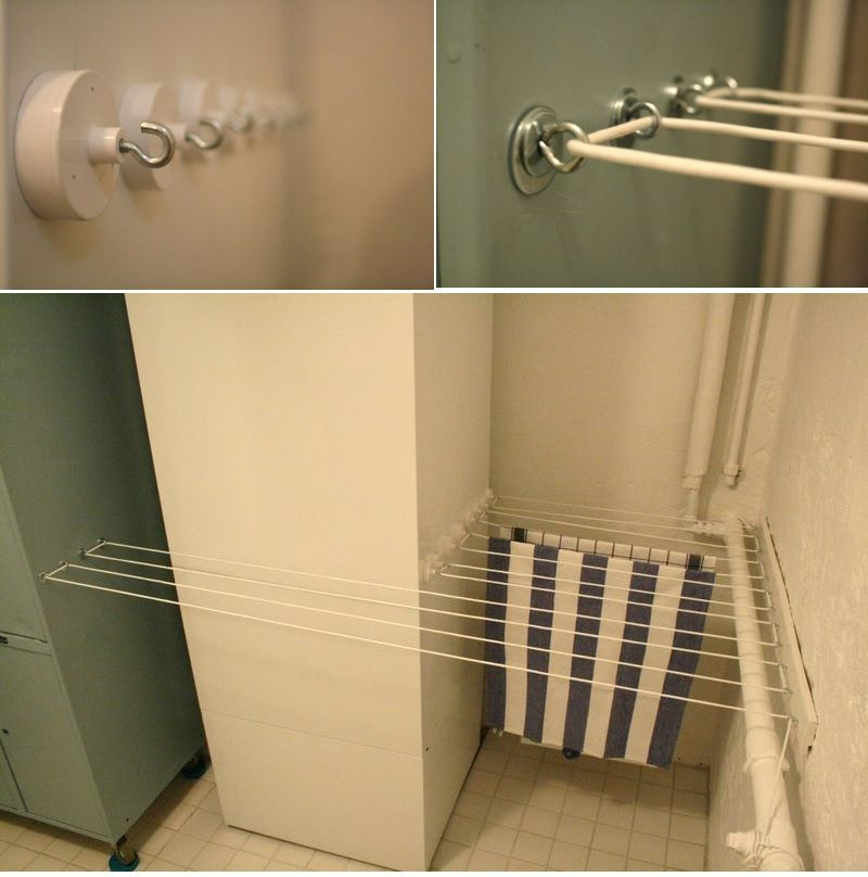 Best ideas about Laundry Room Drying Rack . Save or Pin Practical Laundry Rack Designs That Don t Stand Out Now.