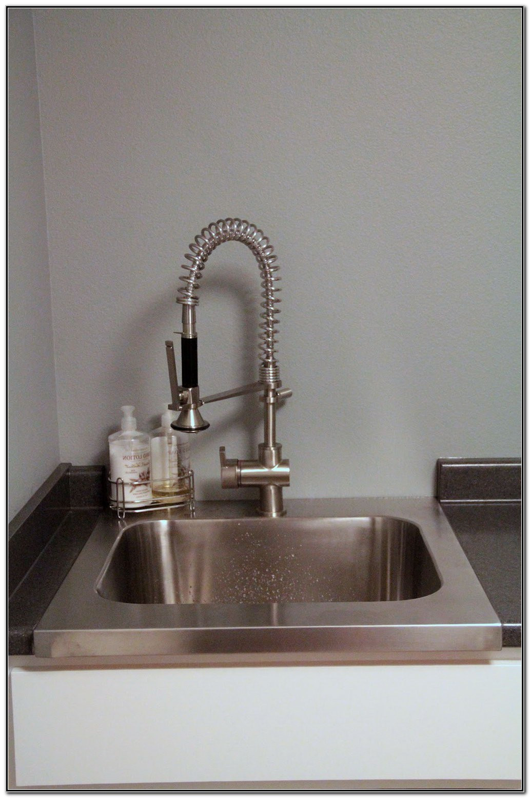 Best ideas about Laundry Room Faucets . Save or Pin Laundry Room Sink Faucet Extra Drain Line Sink And Now.