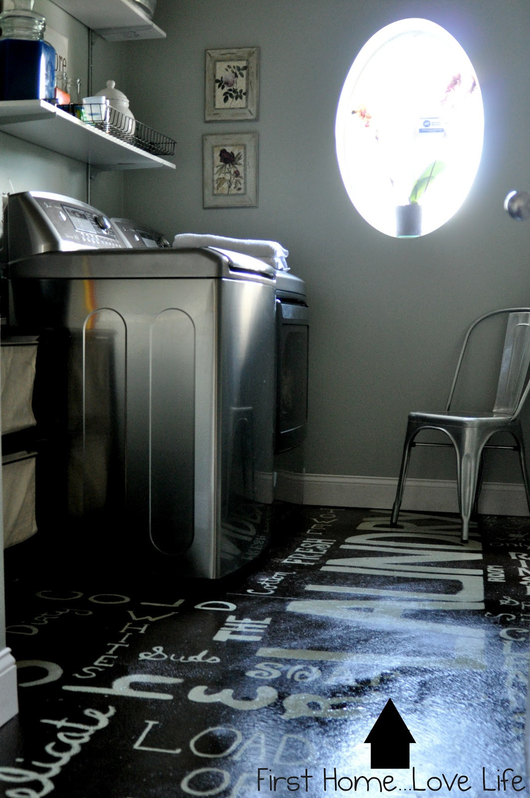 Best ideas about Laundry Room Flooring . Save or Pin Remodelaholic Now.