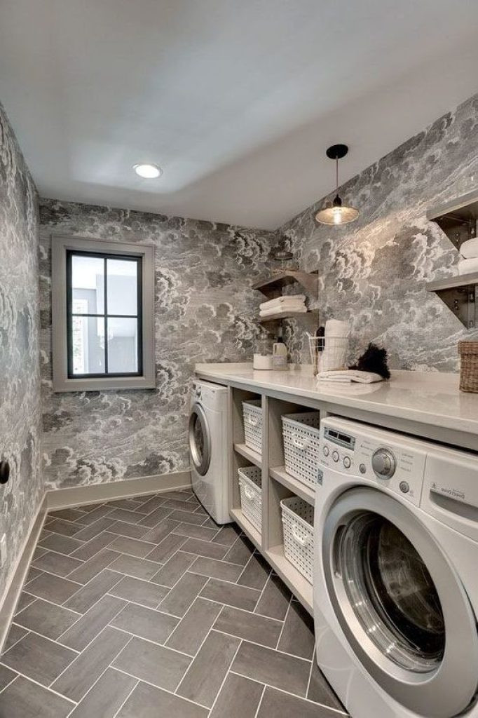 Best ideas about Laundry Room Flooring . Save or Pin 22 Amazing Basement Laundry Room Ideas That'll Make You Love Now.