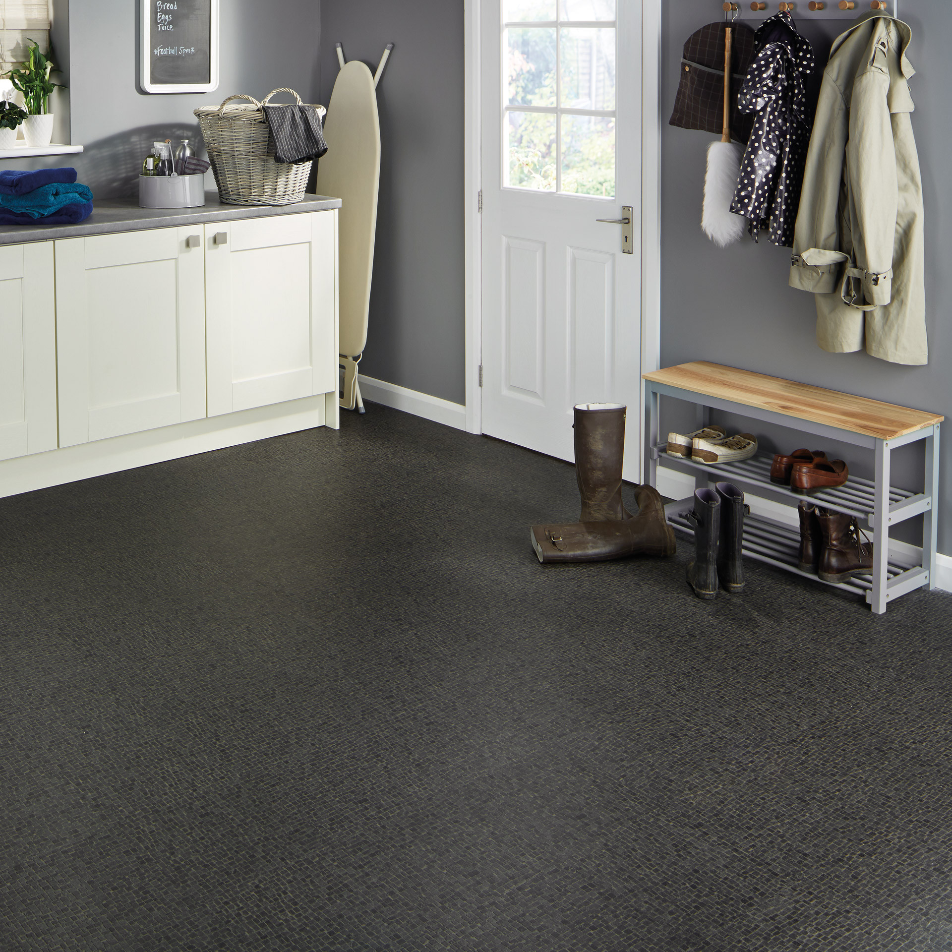 Best ideas about Laundry Room Flooring . Save or Pin Utility & Laundry Room Flooring Ideas for Your Home Now.