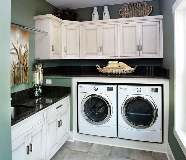 Best ideas about Laundry Room Images . Save or Pin 40 Laundry Room Cabinets To Make This House Chore So Much Now.