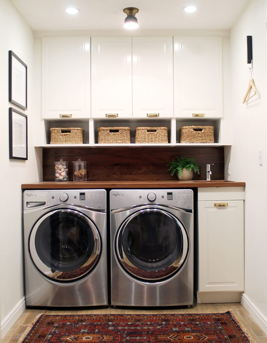 Best ideas about Laundry Room Images . Save or Pin Before and After A Bathroom Turned Laundry Room Chris Now.