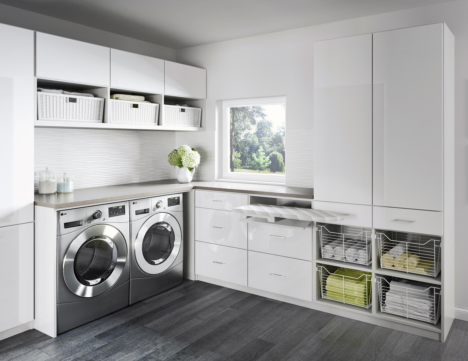 Best ideas about Laundry Room Images . Save or Pin Laundry Room Cabinets & Storage Ideas by California Closets Now.