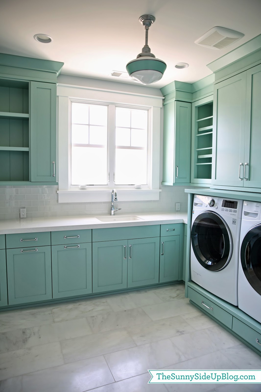 Best ideas about Laundry Room Images . Save or Pin Upstairs Laundry Room The Sunny Side Up Blog Now.