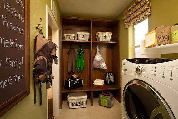 Best ideas about Laundry Room Las Vegas . Save or Pin LivingSmart Homes at Providence Contemporary Laundry Now.