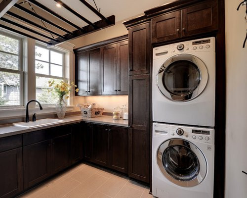 Best ideas about Laundry Room Rack . Save or Pin Hanging Rack Laundry Room Home Design Ideas Renovations Now.