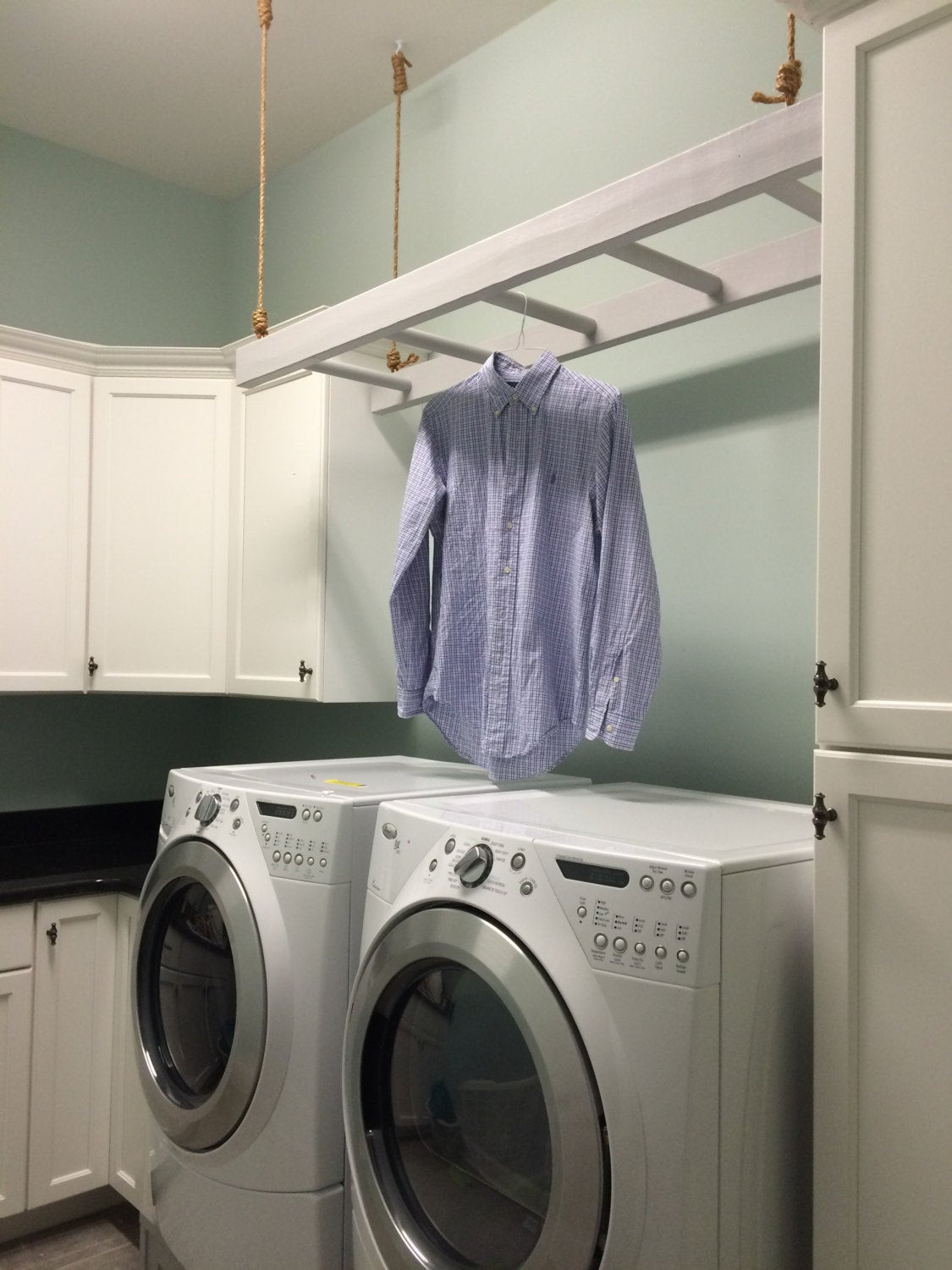 Best ideas about Laundry Room Rack . Save or Pin Clothes Rack for Laundry Room Now.