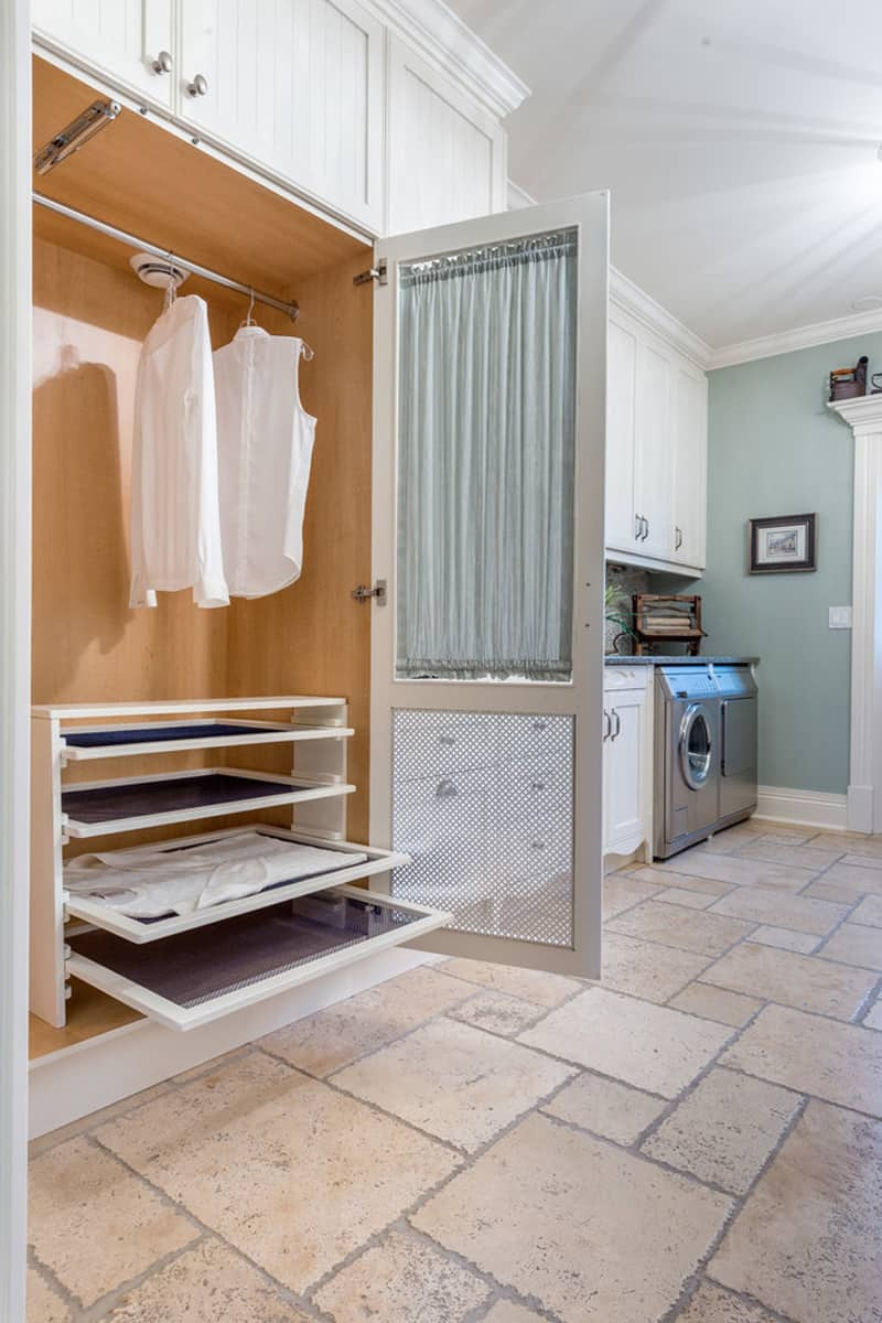 Best ideas about Laundry Room Rack . Save or Pin Brilliant Ways to Organize and Add Storage to Laundry Rooms Now.