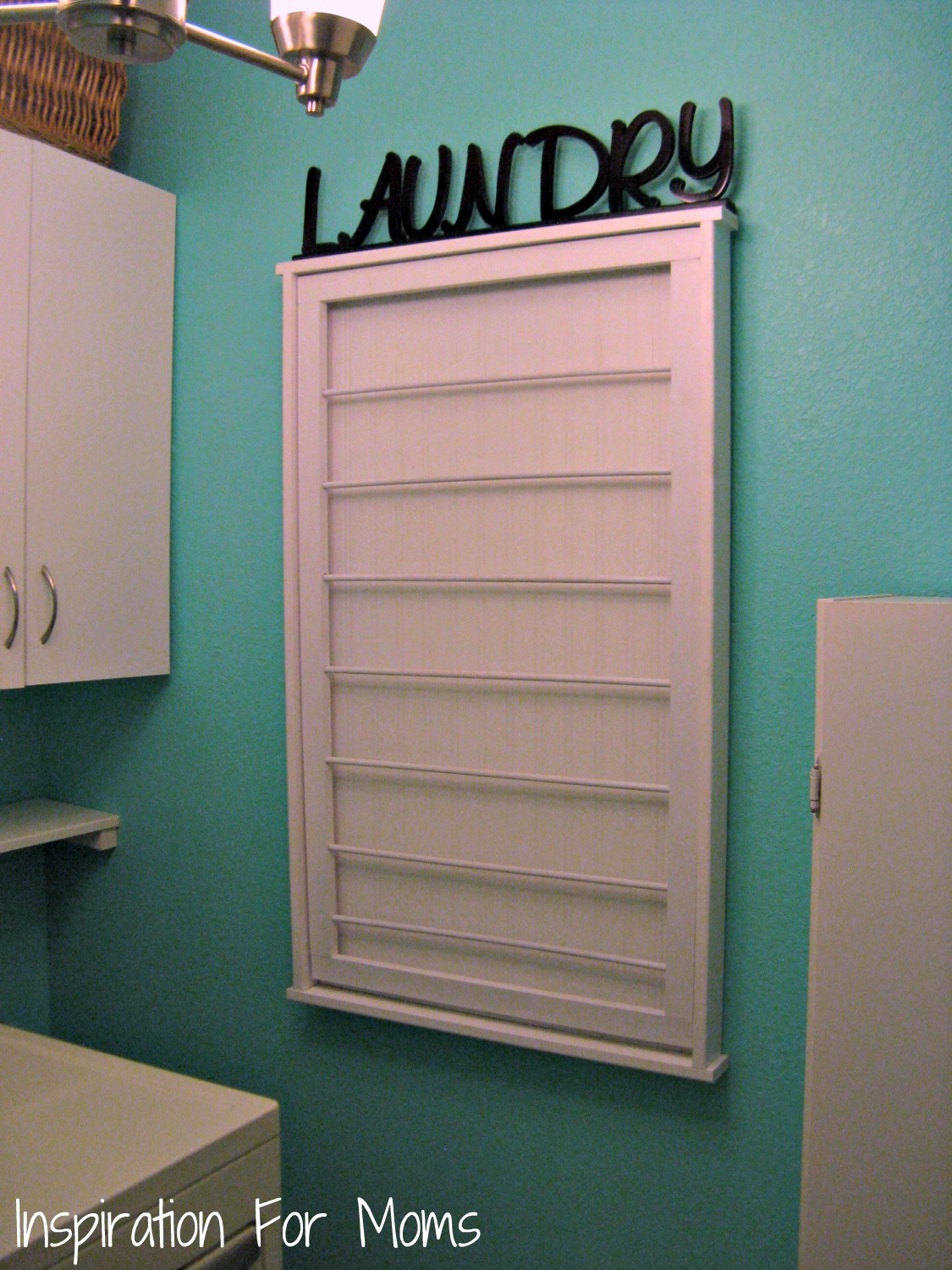 Best ideas about Laundry Room Rack . Save or Pin I Finished It Friday Ballard Designs Inspired Beadboard Now.