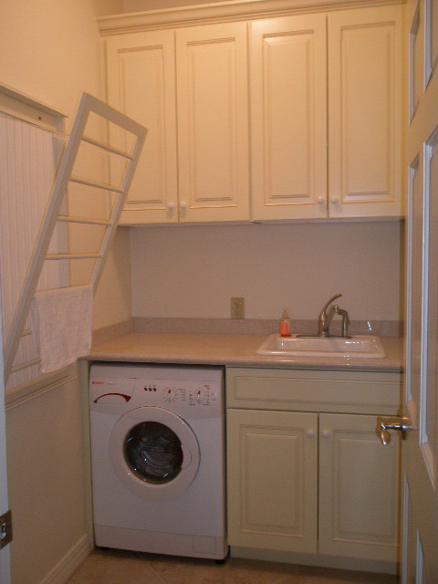 Best ideas about Laundry Room Rack . Save or Pin Wall mounted drying rack laundryroom Now.