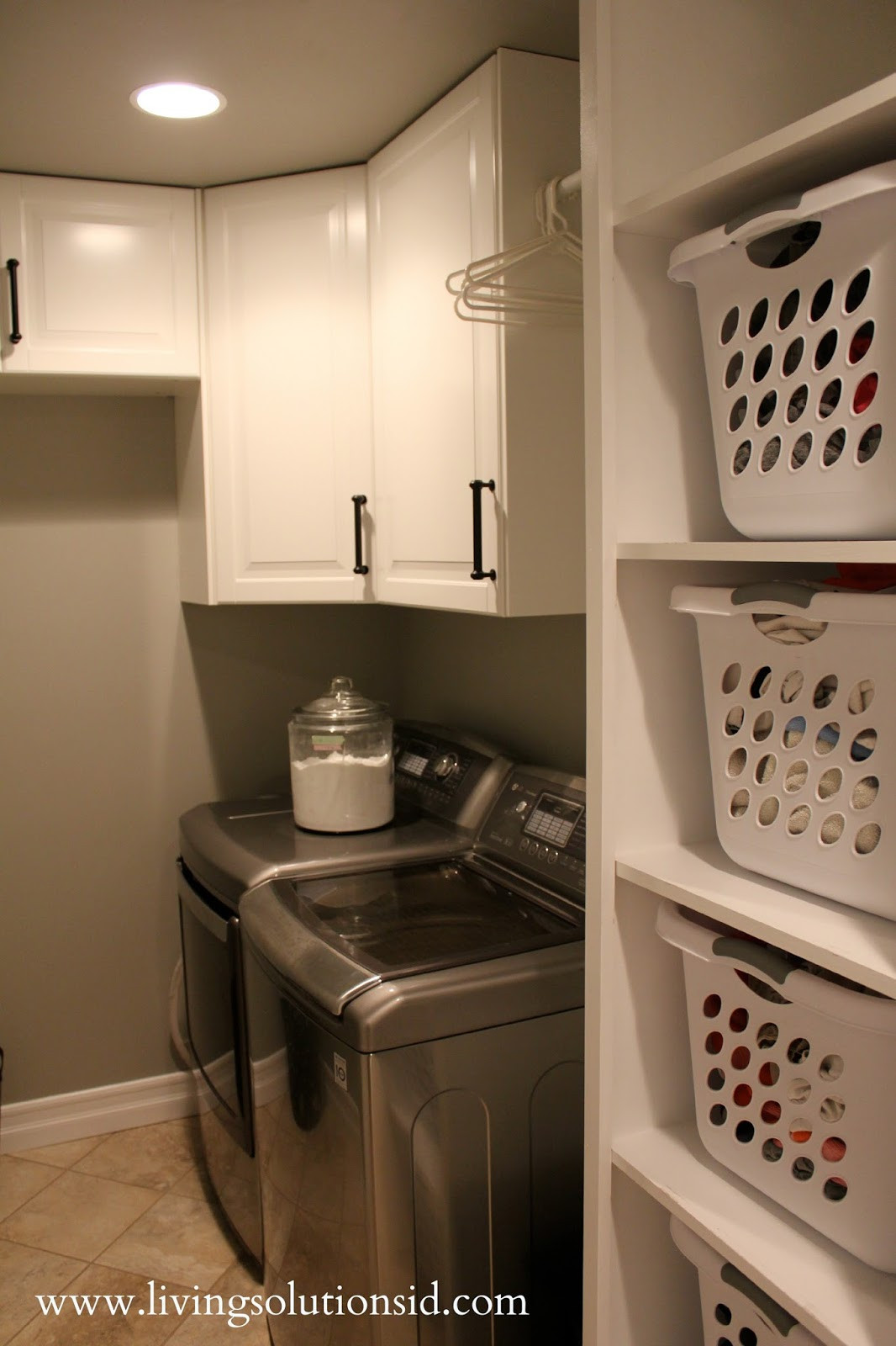 Best ideas about Laundry Room Shelf . Save or Pin The Laundry Room Today Now.
