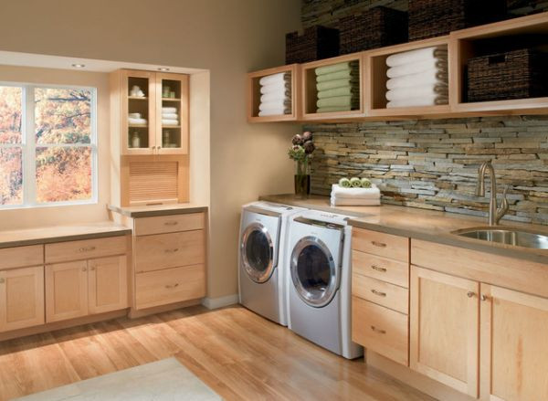 Best ideas about Laundry Room Storage Ideas . Save or Pin 33 Laundry Room Shelving And Storage Ideas Now.