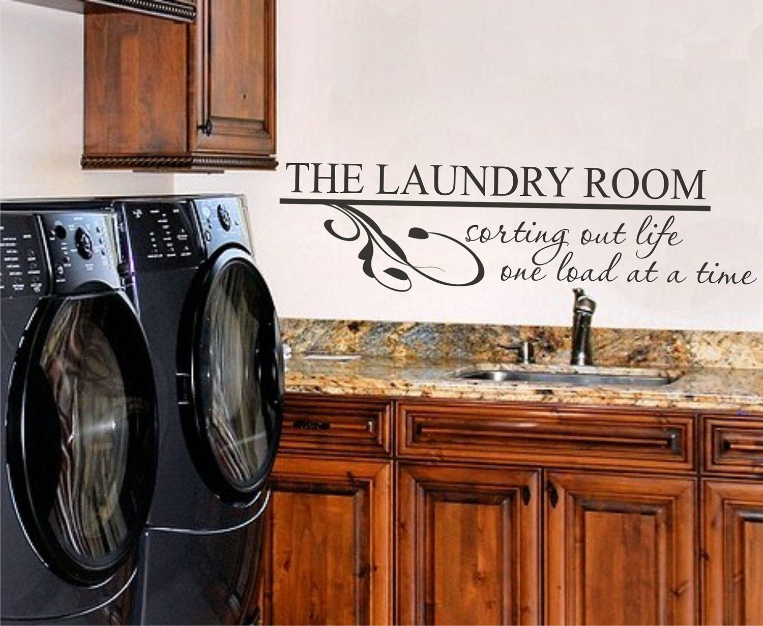 Best ideas about Laundry Room Wall Art . Save or Pin Laundry Room Vinyl Wall Art Vinyl Lettering Vinyl Decal Now.