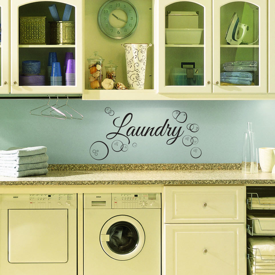 Best ideas about Laundry Room Wall Art . Save or Pin Laundry Room Wall Decal Custom Wall Decal for Laundry Room Now.