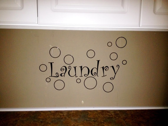 Best ideas about Laundry Room Wall Art . Save or Pin Laundry Room Wall Art Wall Decor Vinyl Decal Now.