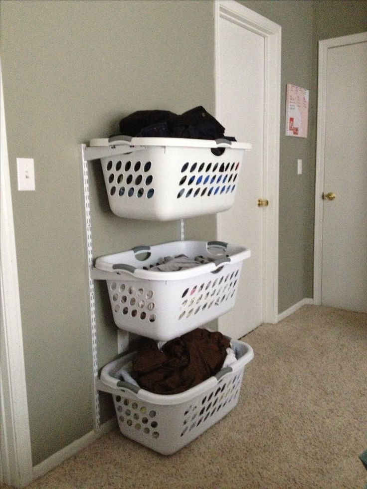 Best ideas about Laundry Storage Ideas . Save or Pin 25 Best Ideas about Laundry Solutions on Pinterest Now.