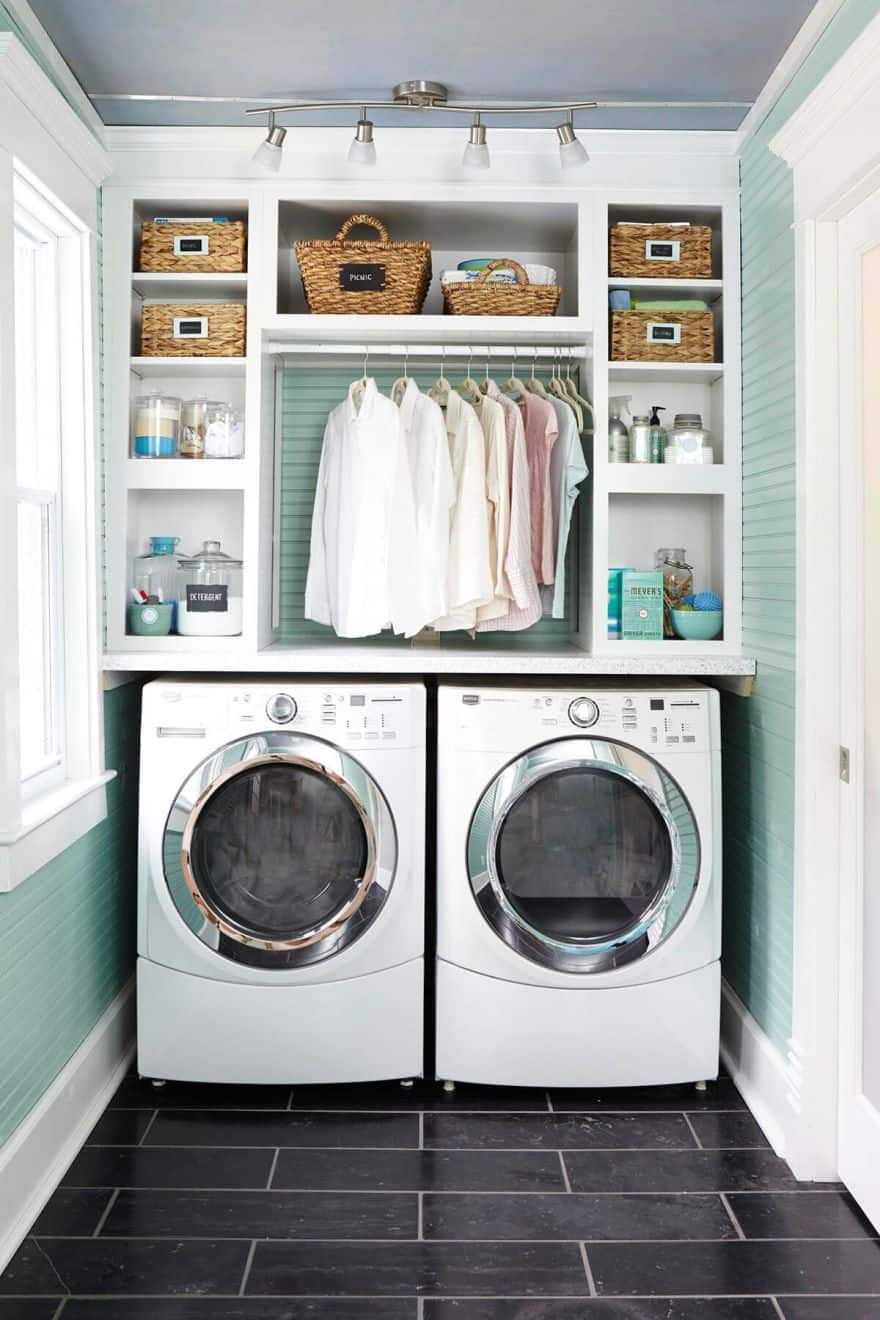 Best ideas about Laundry Storage Ideas . Save or Pin Clever Laundry Room Ideas to Inspire You Now.