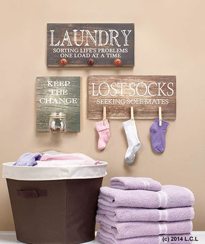 Best ideas about Laundry Wall Decor . Save or Pin Laundry Room Sign IN HAND Hanging Wooden Rustic Primitive Now.