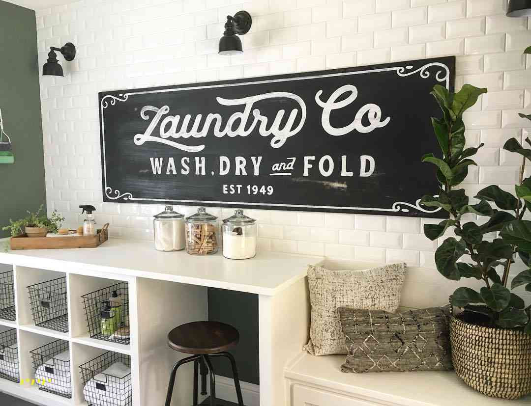 Best ideas about Laundry Wall Decor . Save or Pin 10 Ideas For Laundry Room Wall Decor Now.
