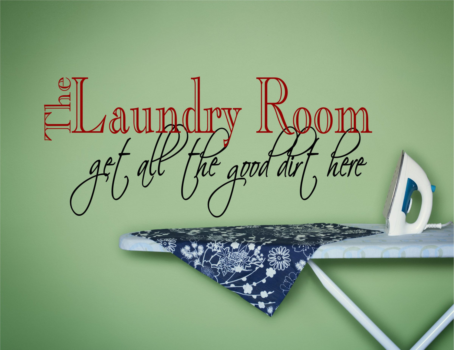 Best ideas about Laundry Wall Decor . Save or Pin Laundry Wall Decal Laundry Wall Art Laundry Wall Decor Now.
