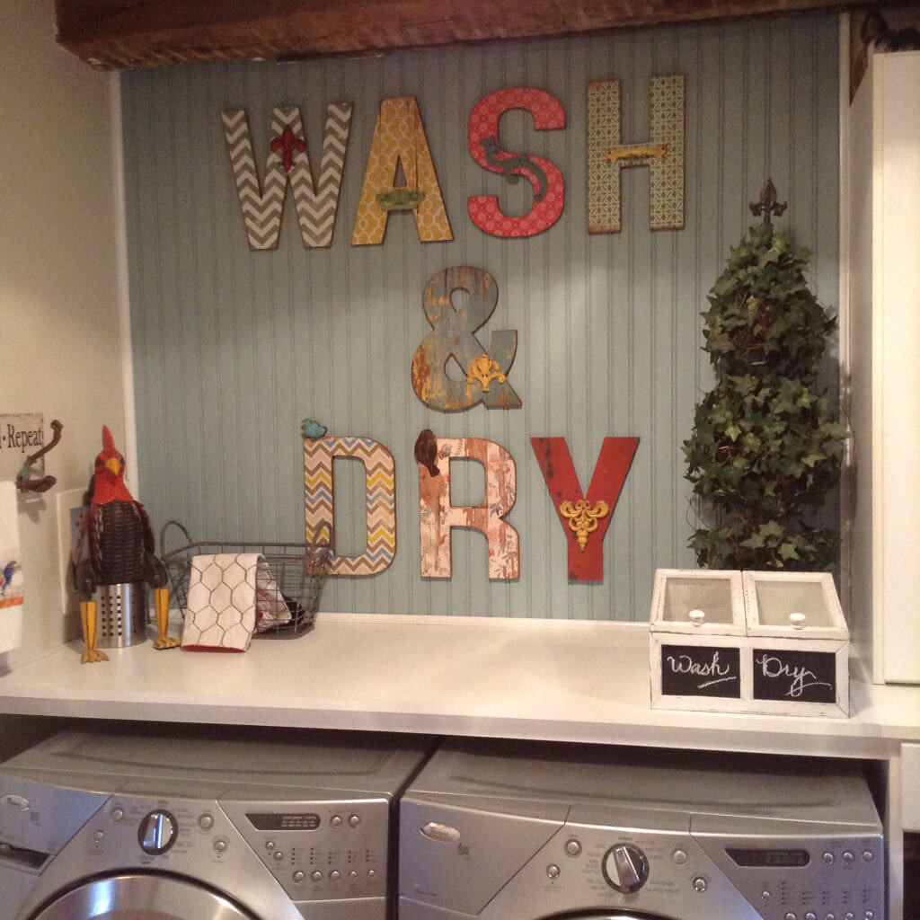 Best ideas about Laundry Wall Decor . Save or Pin 25 Best Vintage Laundry Room Decor Ideas and Designs for 2017 Now.
